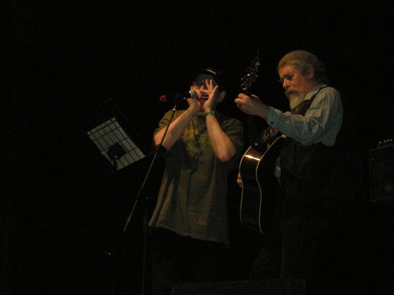 Con Fabrizio Poggi