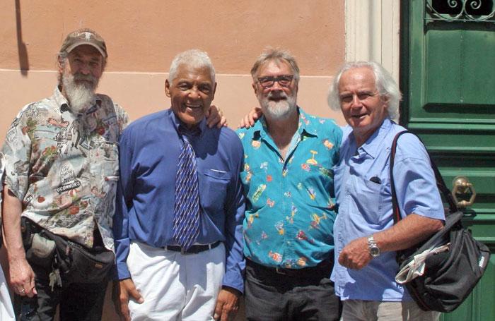 Con Harold, Francis e Dario