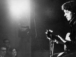 Luigi in concerto al Folkstudio 1967